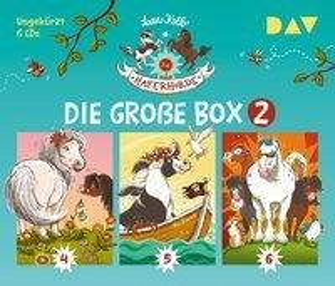 Die Haferhorde - Die große Box 2 (Teil 4-6) - Suza Kolb, Bürger Lars Dietrich