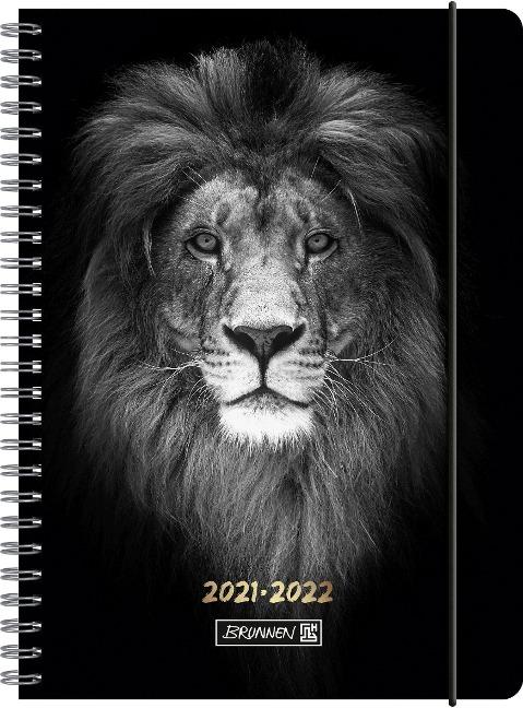 BRUNNEN 1072155062 Wochenkalender/Schülerkalender 2021/2022 Lion -