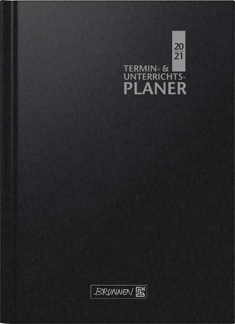 BRUNNEN 1075760901 Wochenkalender/Lehrerkalender, 2020/2021 Termin- & Unterrichtsplaner, Lehrer-Sortiment -