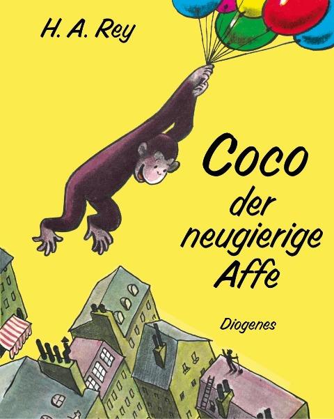 Coco der neugierige Affe - Hans Augusto Rey