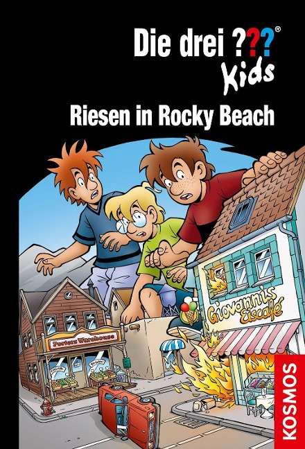 Die drei ??? Kids, 86, Riesen in Rocky Beach - Ulf Blanck