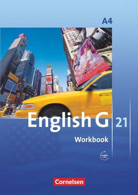 English G 21. Ausgabe A 4. Workbook mit Audios online - Jennifer Seidl