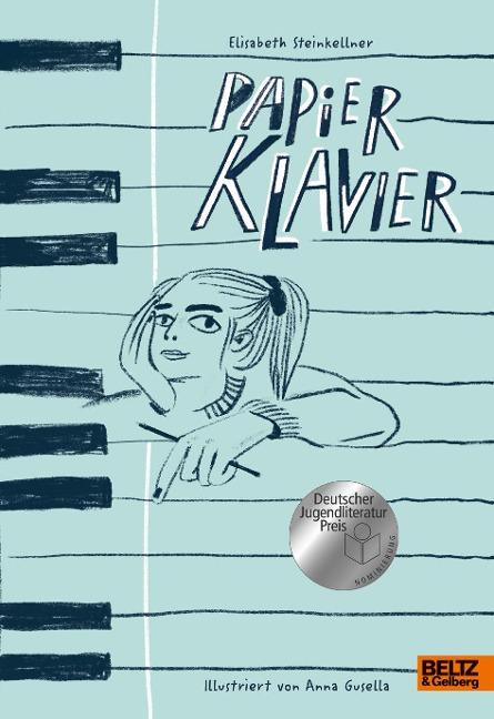 Papierklavier - Elisabeth Steinkellner