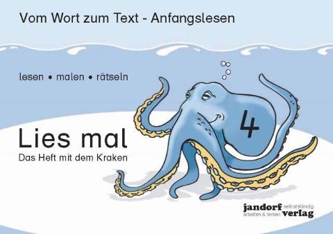 Lies mal 4 - Das Heft mit dem Kraken - Jan Debbrecht, Peter Wachendorf