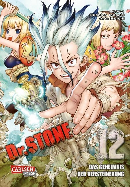 Dr. Stone 12 - Boichi, Riichiro Inagaki