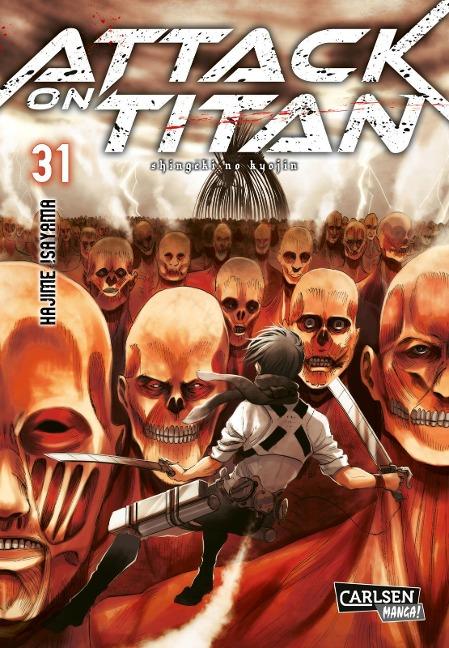Attack on Titan 31 - Hajime Isayama