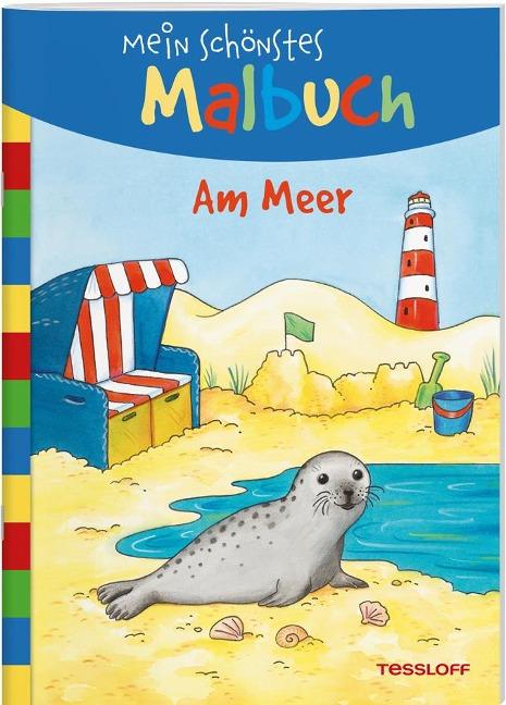 Mein schönstes Malbuch. Am Meer -