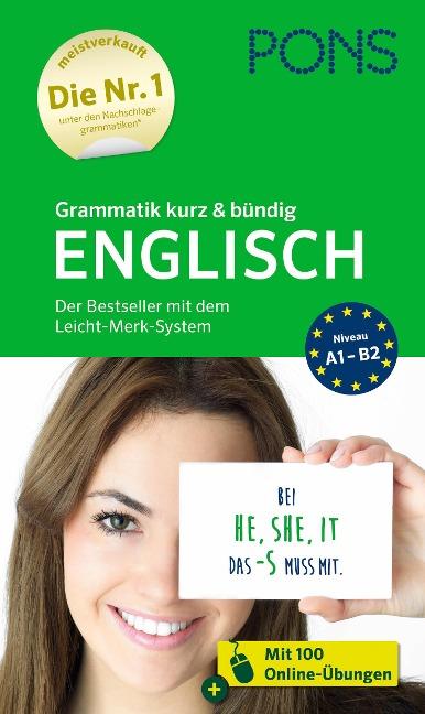 PONS Grammatik kurz & bündig Englisch -