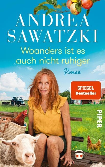 Woanders ist es auch nicht ruhiger - Andrea Sawatzki