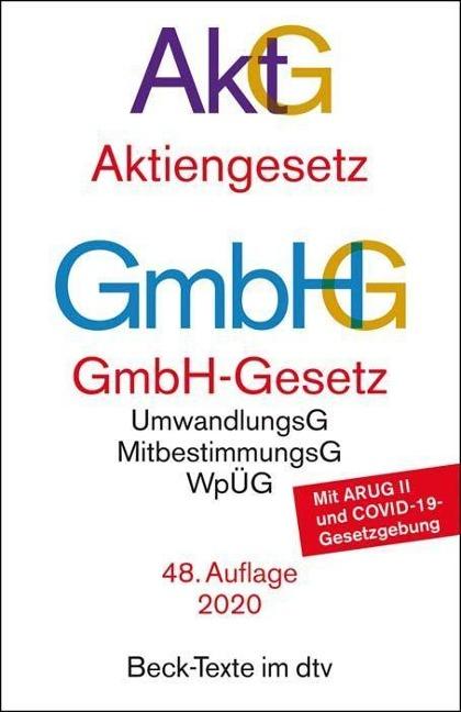 Aktiengesetz, GmbH-Gesetz -