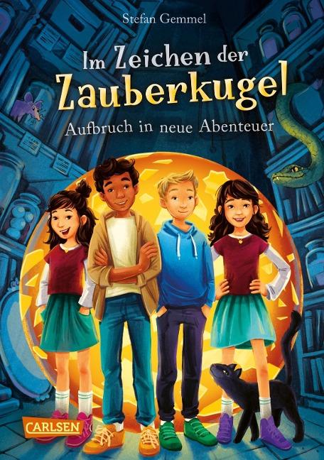 Im Zeichen der Zauberkugel 7: Aufbruch in neue Abenteuer - Stefan Gemmel