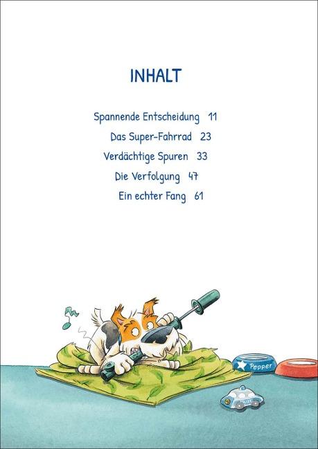 Kommissar Pfote (Band 3) - Schnüffel-Einsatz auf dem Schulhof - Katja Reider