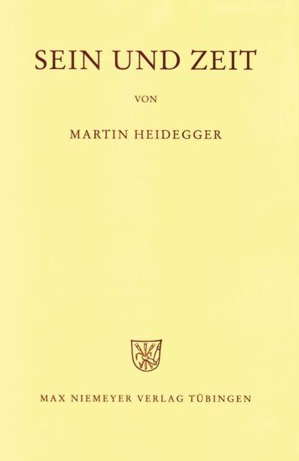 Gesamtausgabe Abt. 1 Veröffentlichte Schriften Bd. 2. Sein und Zeit - Martin Heidegger