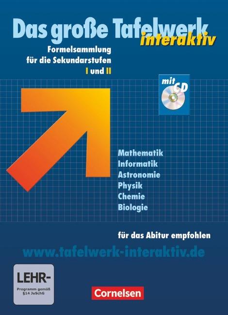Das große Tafelwerk interaktiv. Allgemeine Ausgabe. Mit CD-ROM -