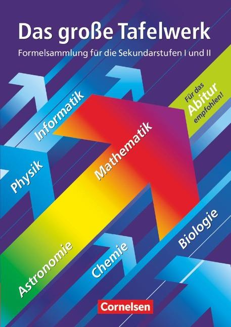 Das große Tafelwerk. Westliche Bundesländer - Rüdiger Erbrecht, Hubert König, Karlheinz Martin, Wolfgang Pfeil, Willi Wörstenfeld