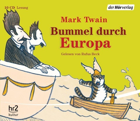 Bummel durch Europa - Mark Twain
