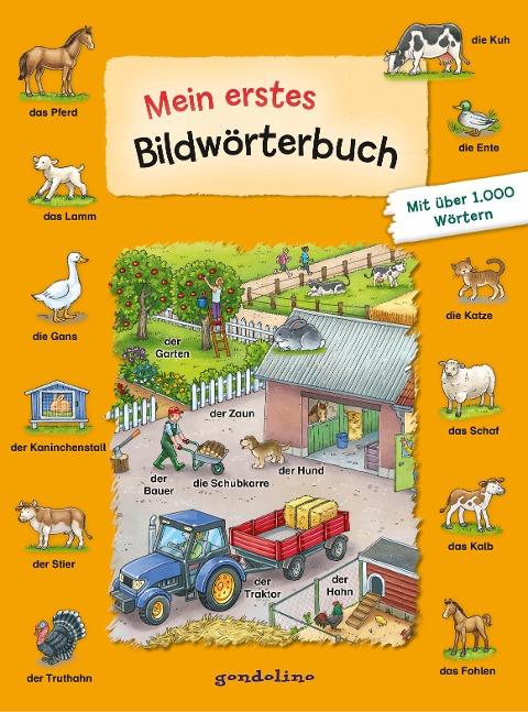 gondolino Bildwörter- und Übungsbücher Mein erstes Bildwörterbuch -