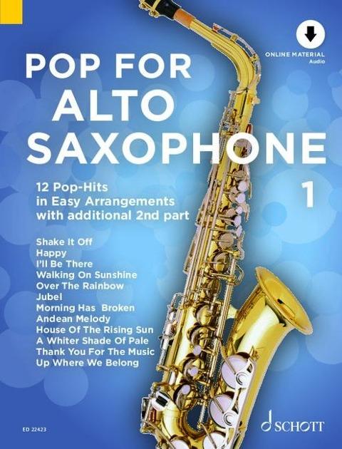 Pop For Alto Saxophone 1 -