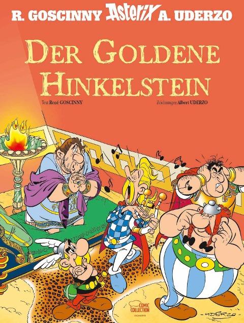 Asterix - Der Goldene Hinkelstein - René Goscinny, Albert Uderzo