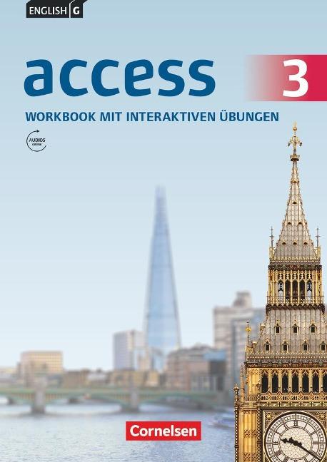 English G Access 03: 7. Schuljahr. Workbook mit interaktiven Übungen auf scook.de. Allgemeine Ausgabe - Jennifer Seidl