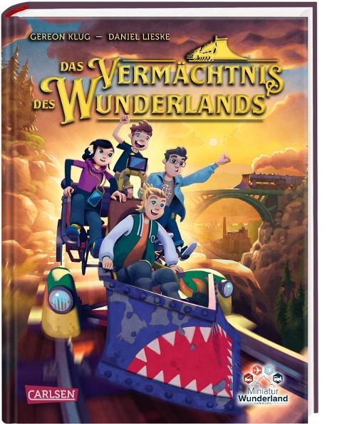 Das Vermächtnis des Wunderlands (Abenteuer Miniatur Wunderland 1) - Gereon Klug