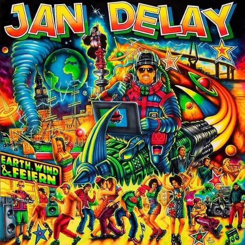 Jan Delay: Earth, Wind & Feiern (Ltd. Digipack) - Jan Delay