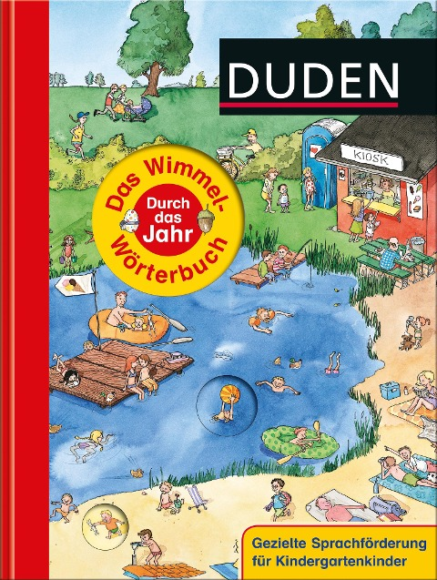 Duden - Das Wimmel-Wörterbuch - Durch das Jahr -