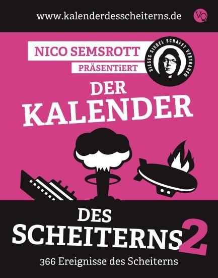 Der Kalender des Scheiterns 2 - Nico Semsrott