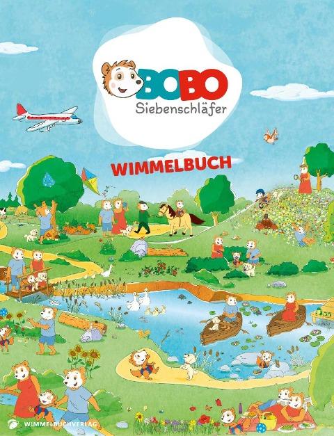 Bobo Siebenschläfer Wimmelbuch - Markus Osterwalder