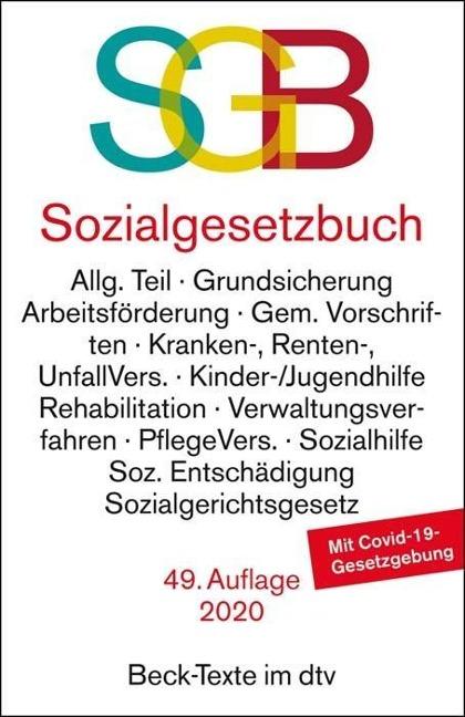 Sozialgesetzbuch mit Sozialgerichtsgesetz, mit Sozialgerichtsgesetz -