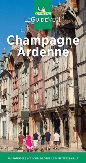 Michelin Le Guide Vert Champagne Ardenne -