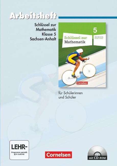 Schlüssel zur Mathematik 5. Schuljahr. Arbeitsheft Sekundarstufe Sachsen-Anhalt -