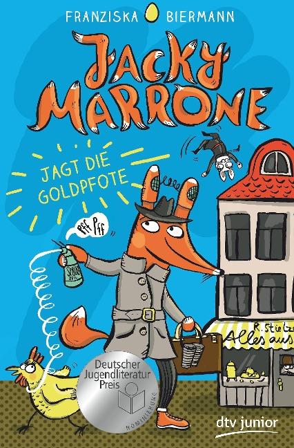 Jacky Marrone jagt die Goldpfote - Franziska Biermann