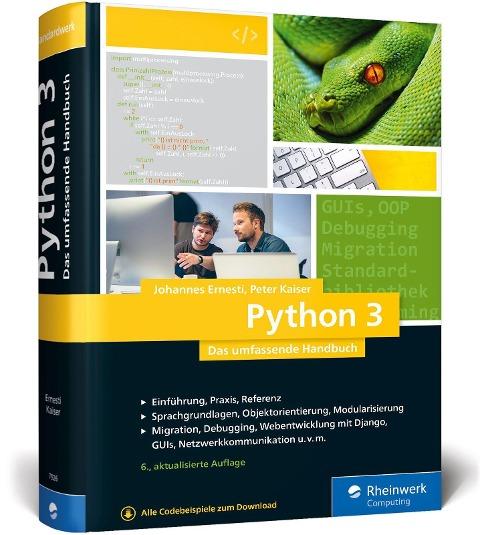 Python 3 - Johannes Ernesti, Peter Kaiser