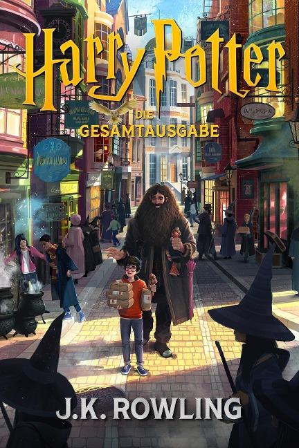 Harry Potter: Die Gesamtausgabe (1-7) - J. K. Rowling