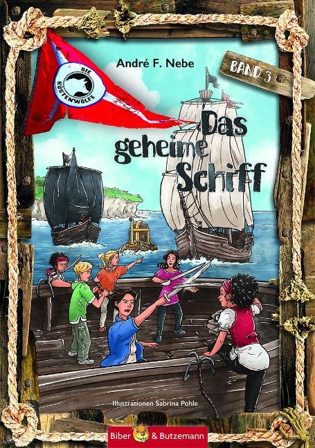 Das geheime Schiff - André F. Nebe