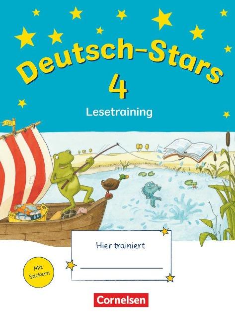 Deutsch-Stars 4. Schuljahr. Lesetraining -