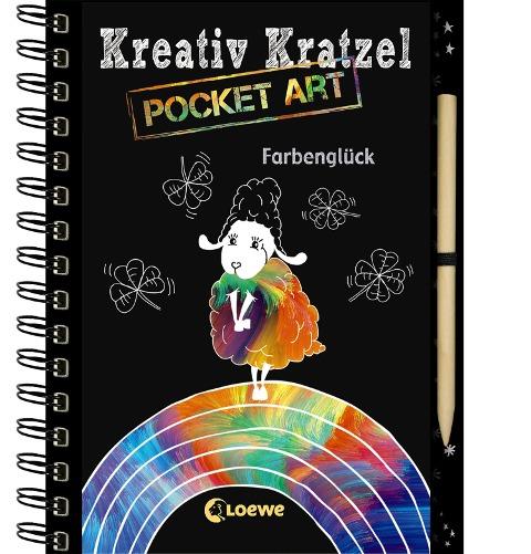 Kreativ-Kratzel Pocket Art: Farbenglück - Ann-Katrin Heger