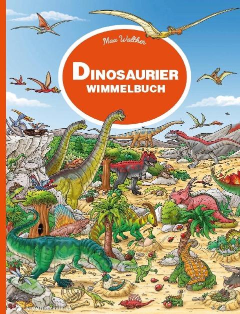 Dinosaurier Wimmelbuch -