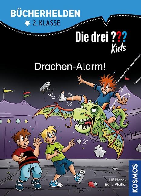 Die drei ??? Kids, Bücherhelden 2. Klasse, Drachen-Alarm! - Ulf Blanck, Boris Pfeiffer