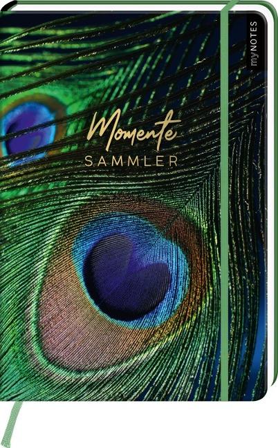 myNOTES Notizbuch A4: Momentesammler - notebook large, dotted - für Träume, Pläne und Ideen / ideal als Bullet Journal oder Tagebuch -