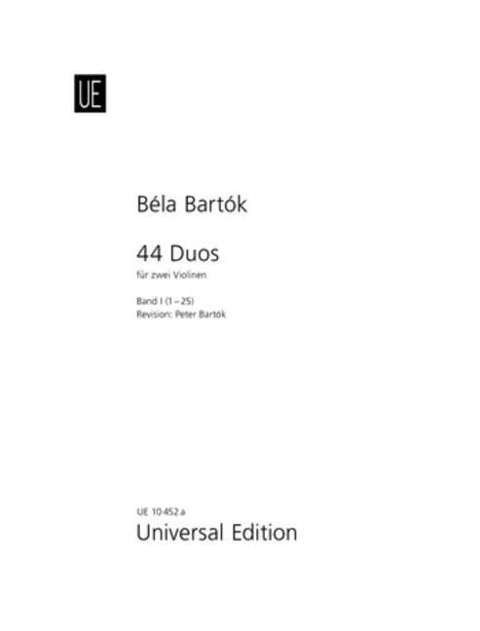 44 Duos - Béla Bartók