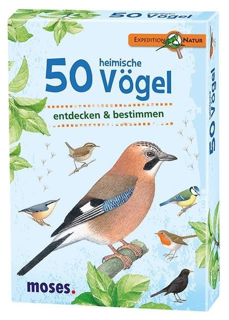 Expedition Natur. 50 heimische Vögel -
