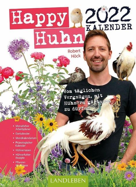 Happy Huhn Kalender 2022 - Robert Höck