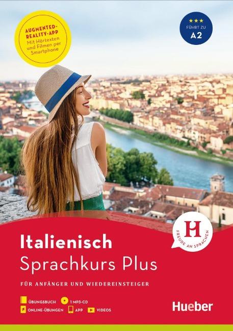 Sprachkurs Plus Italienisch. Buch mit MP3-CD, Onlineübungen, App und Videos - Gabriella Caiazza-Schwarz