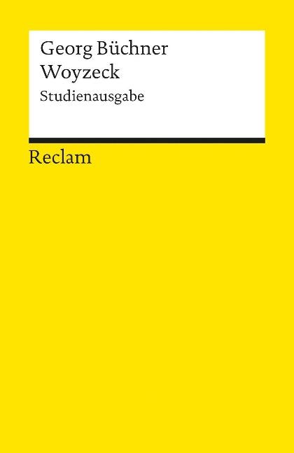Woyzeck. Studienausgabe - Georg Büchner