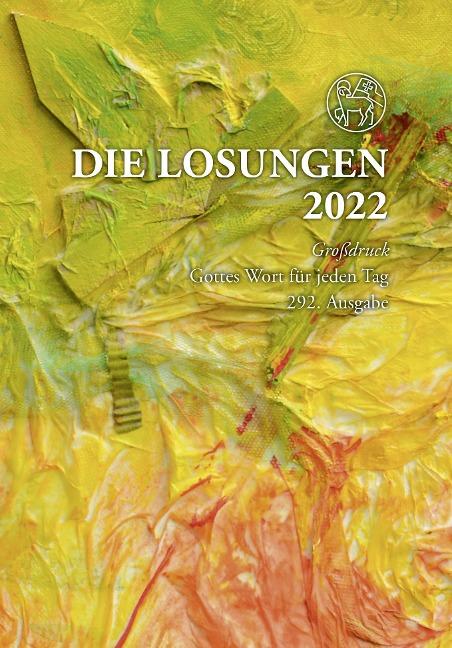 Die Losungen 2022 für Deutschland - Geschenkausgabe, Großdruck -