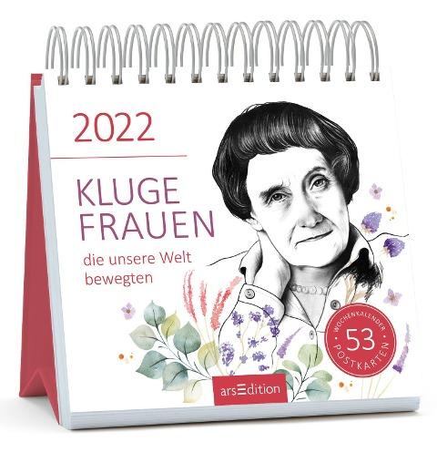 Postkartenkalender Kluge Frauen, die unsere Welt bewegten 2022 -