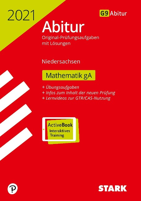 STARK Abiturprüfung Niedersachsen 2021 - Mathematik GA -