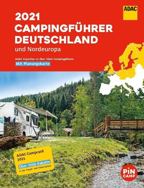 ADAC Campingführer Deutschland/Nordeuropa 2021 -